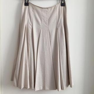 イネド(INED)の【INED】スカート(ひざ丈スカート)
