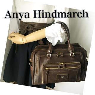 アニヤハインドマーチ(ANYA HINDMARCH)の売り切り値下げ⚡️美品‼️アニヤハインドマーチ✨本革 バッグ❤️(込)(ハンドバッグ)