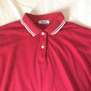 赤 ポロシャツ(ポロシャツ)