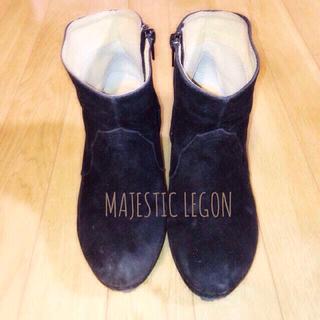 マジェスティックレゴン(MAJESTIC LEGON)のMAJESTICLEGONショートブーツ(ブーツ)