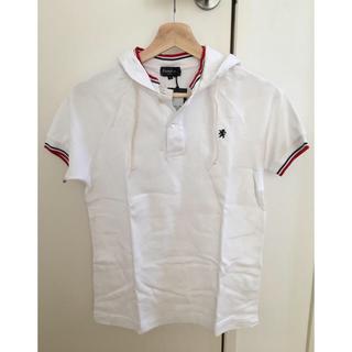 ジムフレックス(GYMPHLEX)のgymphlex フード付きポロシャツ 白/14(ポロシャツ)