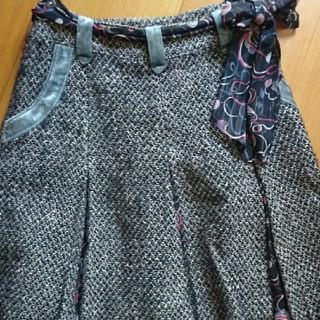 スニップスナップ(Snip Snap)の膝丈スカート  プリーツ(ひざ丈スカート)