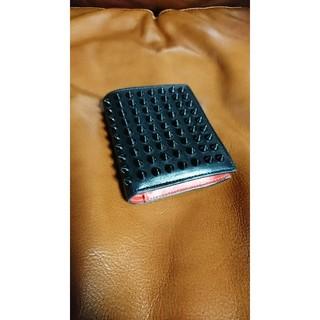 クリスチャンルブタン(Christian Louboutin)の【Uたん様専用】Christian Louboutinミニ財布 (折り財布)
