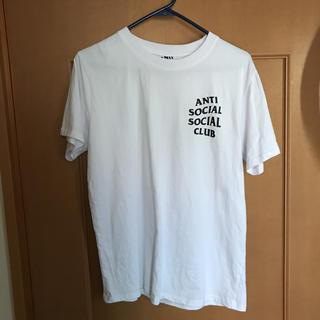 アンチ(ANTI)のassc アンチソウシャルソウシャルクラブ  ほぼ新品 明日発送します 値下げ可(Tシャツ/カットソー(半袖/袖なし))