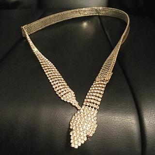 アッシュアンドダイアモンド(ASH&DIAMONDS)のスワロフスキー ベルト 蛇 ヘビ レディース(ベルト)
