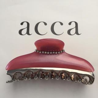 アッカ(acca)のacca New Collana  ニューコラーナ Lサイズ(バレッタ/ヘアクリップ)
