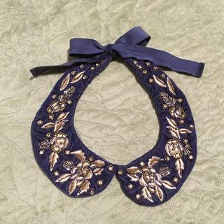 ザラ(ZARA)のひ様 ZARA つけ襟ネックレス(つけ襟)