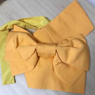 作り帯★美品(浴衣帯)