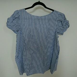 シマムラ(しまむら)のしまむら ストライプシャツ 3L(Tシャツ(半袖/袖なし))