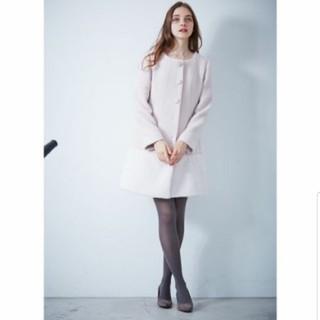 プロポーションボディドレッシング(PROPORTION BODY DRESSING)の袖ファーコート(ロングコート)