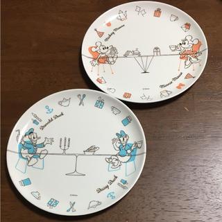 ディズニー(Disney)の【非売品】ディズニーキャラクタープレート2枚セット(食器)