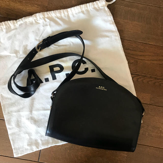 A.P.C. ハーフムーンバッグ