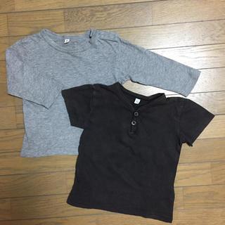 MUJI (無印良品) - ▷used▷無印良品 長袖 半袖 Tシャツ セット