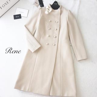 ルネ(René)の極美品♡Rene ルネ 2016年 コート アンゴラ(ロングコート)