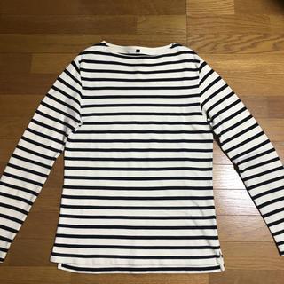 ムジルシリョウヒン(MUJI (無印良品))の無印良品 メンズ長袖ボーダーT(Tシャツ/カットソー(七分/長袖))