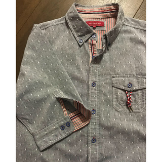アベイル(Avail)のメンズカジュアルシャツ  グレー(シャツ)