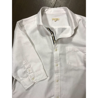 アベイル(Avail)のメンズカジュアルシャツ  白(シャツ)