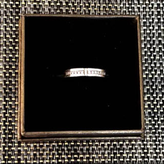 ヨンドシー(4℃)の★ノリ様専用★4°C ヨンドシー シルバー+ジルコニア クロスリング(リング(指輪))