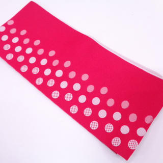 新品☆浴衣帯 濃いピンク(浴衣帯)