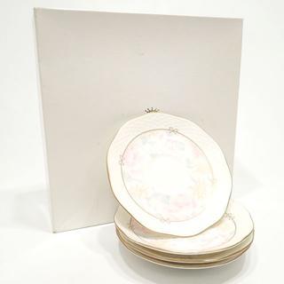 ナルミ(NARUMI)のC544 美品 NARUMI 小皿 4枚セット ミート皿 取り皿(食器)
