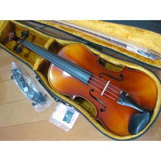 スズキ(スズキ)の高級 国産ビオラ SUZUKI No.2 15.5インチ 新品弓付属品セット(ヴィオラ)