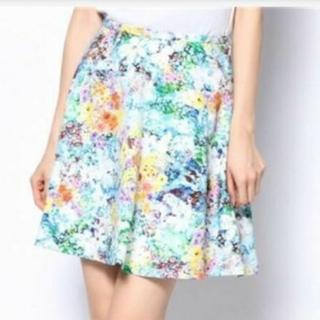 エポカ(EPOCA)のビアンカエポカ エポカ EPOCA スカート 花柄 フラワープリント(ミニスカート)