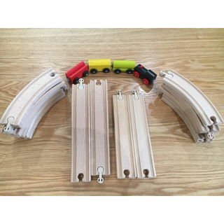 イケア(IKEA)の☆ IKEA(イケア) LILLABO 列車基本セット 20ピースマルチカラー(電車のおもちゃ/車)