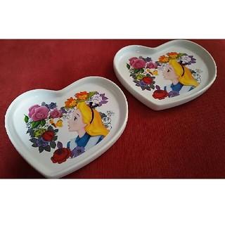 ディズニー(Disney)のディズニーランド☆アリス ケーキ皿セット(食器)