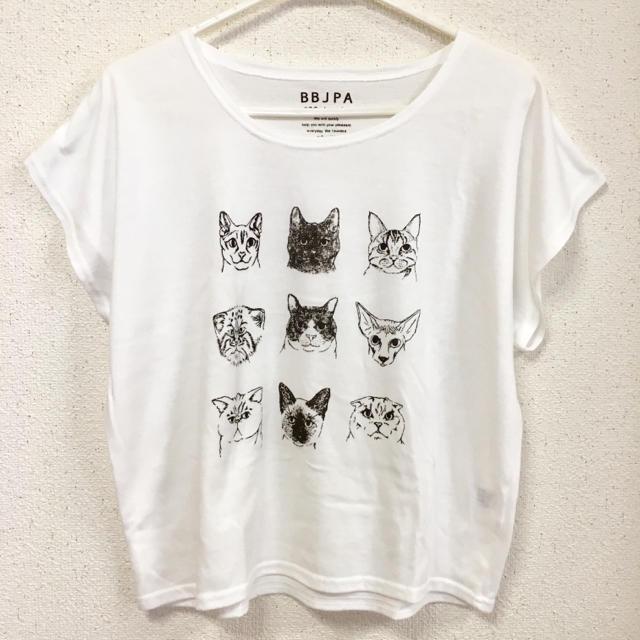おしゃれな猫イラストドルマンtシャツの通販 By Saori0423s Shopラクマ