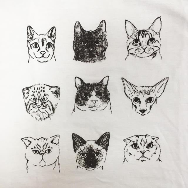 おしゃれな猫イラスト ドルマンtシャツの通販 By Saori0423 S Shop ラクマ