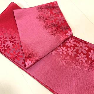 浴衣帯 赤 ピンク(浴衣帯)