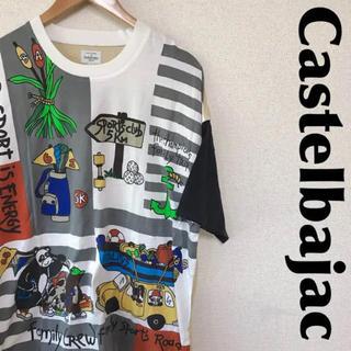 カステルバジャック(CASTELBAJAC)のCASTELBAJAC カステルバジャック Tシャツ オーバーサイズ 0817(Tシャツ/カットソー(半袖/袖なし))