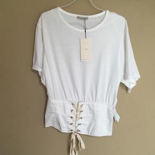 ザラ(ZARA)のコルセットTシャツ(Tシャツ(半袖/袖なし))