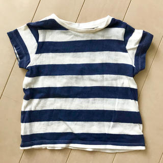 281e03846e6cc シマムラ(しまむら)のオーガニックコットン Tシャツ 80(Tシャツ)