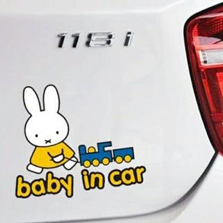 ミッフィー ベビーインカー 赤ちゃんステッカー 赤ちゃんマーク ベビー乗車マーク(その他)