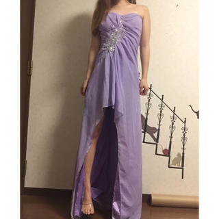前ミニロングドレス♡dazzy store♡Tika♡Sugar♡(ロングドレス)