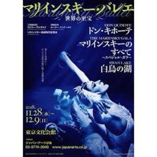 マリリンスキーバレエ来日公演 マリインスキーのすべて 日曜公演 A券1階席(バレエ)