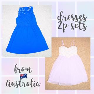 セシルマクビー(CECIL McBEE)のオーストラリア購入🇦🇺 ドレス2着セット(ミニドレス)