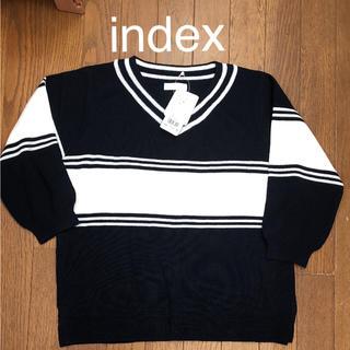 インデックス(INDEX)のindex ニット(ニット/セーター)
