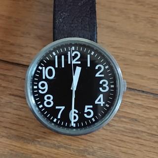 MUJI (無印良品) - 無印良品 公園の時計 腕時計 ジャンク