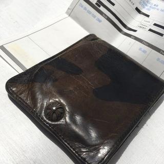 クロムハーツ(Chrome Hearts)のクロムハーツCHROMEHEARTS■【1SNAP】迷彩1スナップウォレット財布(折り財布)