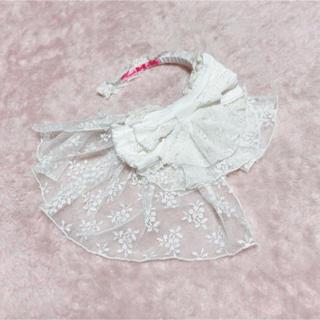 アンジェリックプリティー(Angelic Pretty)の新品同様◆ Angelic pretty花嫁ヴェールカチューシャハロウィンにも(カチューシャ)