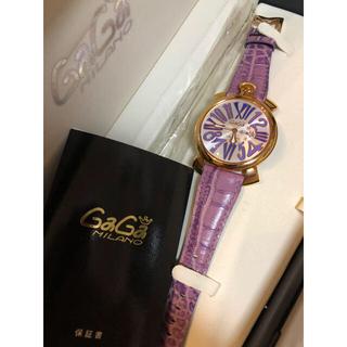 ガガミラノ(GaGa MILANO)の正規品 GaGaMILANO  美品(腕時計(アナログ))