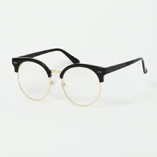 ウィゴー(WEGO)のボストンブロータイプメガネ(サングラス/メガネ)