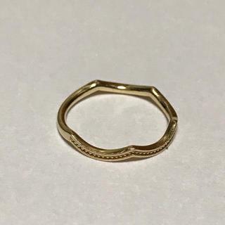 エテ(ete)のete エテ ピンキーリング K10YG(リング(指輪))