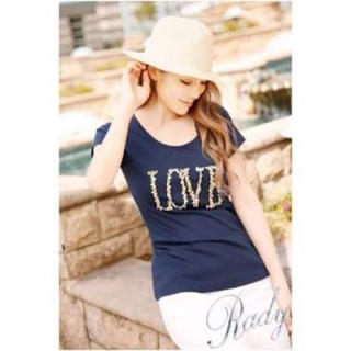 レディー(Rady)のLOVE Tシャツ(Tシャツ(半袖/袖なし))