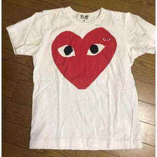 コムデギャルソン(COMME des GARCONS)の❤本日限定お値下❤ コム・デ・ギャルソン プレイ Tシャツ M(Tシャツ(半袖/袖なし))