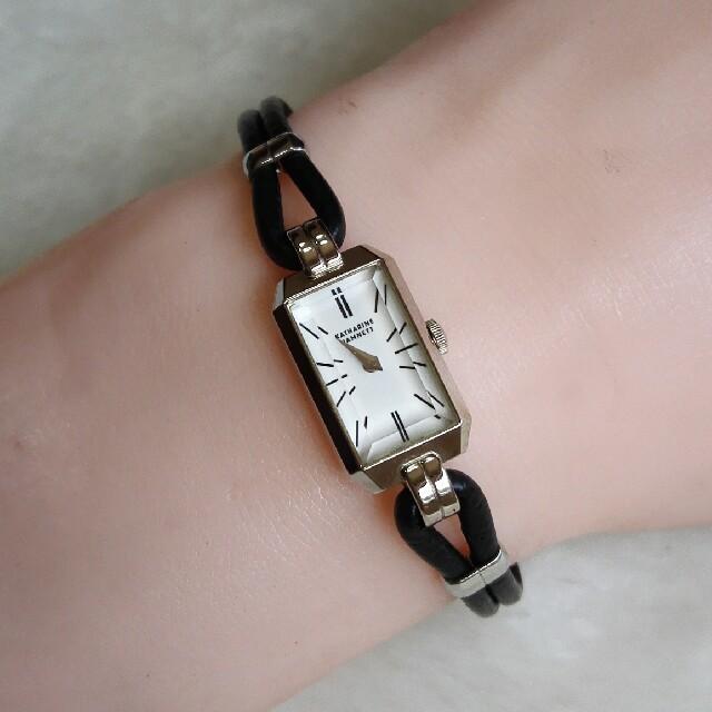 new arrival 404ff 93c92 キャサリンハムネット腕時計 レディースクォーツ