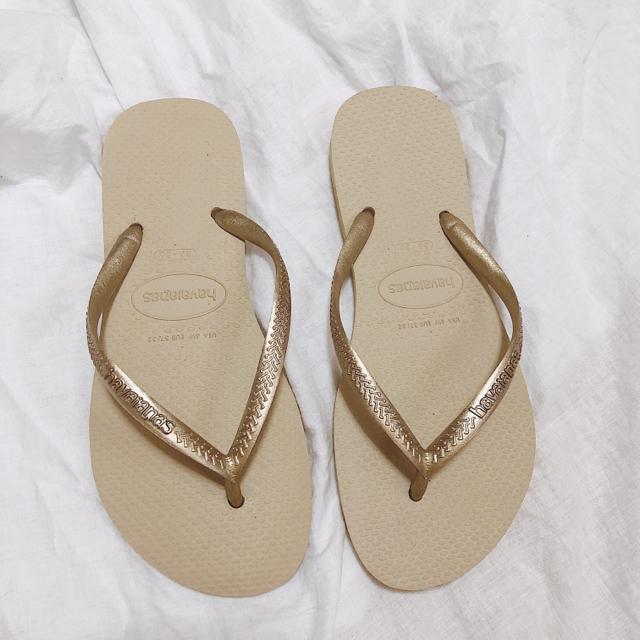 havaianas(ハワイアナス)の【ハワイアナス】ビーチサンダル★ レディースの靴/シューズ(ビーチサンダル)の商品写真