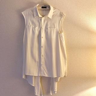 ジーヴィジーヴィ(G.V.G.V.)のG.V.G.V. ノースリーブシャツ(シャツ/ブラウス(半袖/袖なし))